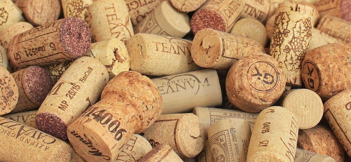 Tipos de corchos para vinos